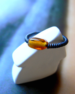 Surfer Style Ring, Espresso