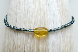 Beach Chic Bracelet, Black Lemon