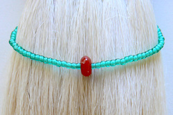 Surf Style, Little Red Buoy Bracelet